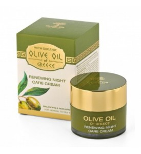 Renewing night care cream for normal to oily skin Olive Oil of Greece 50 ml BIOFRESH