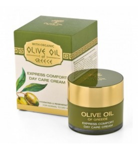 Express comfort day care cream for normal to dry skin Olive Oil of Greece 50 ml BIOFRESH