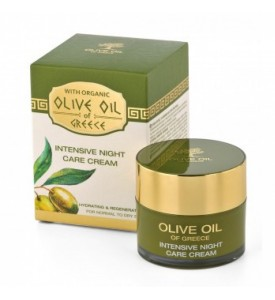 Intensive night care cream for normal to dry skin Olive Oil of Greece 50 ml BIOFRESH