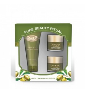 "Gift set Olive oil of Greece for dry skin ""Pure Beauty Ritual"" BIOFRESH"