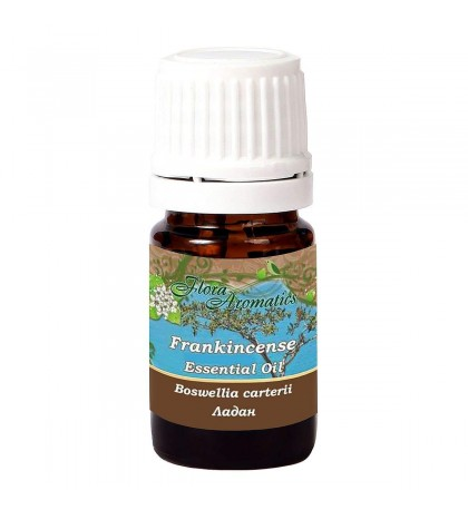 Flora Aromatics Frankincense Boswellia carterii 100% Pure Essential Oil 0.17 Fl Oz/5 Ml
