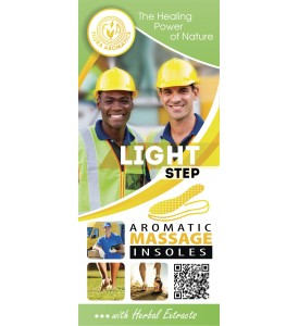 "Aromatic Massage insoles "" Light Step"" with Herbal Extracts"