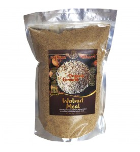 Organic Ground Raw Walnut Meal 2.2 lbs/1 kg