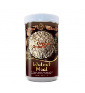 Organic Ground Raw Walnut Meal 1 lb/454 g