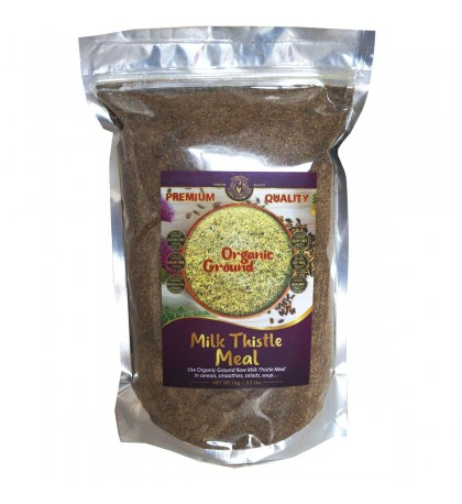 Organic Ground RAW Milk Thistle Seed Meal 2.2lbs /1kg