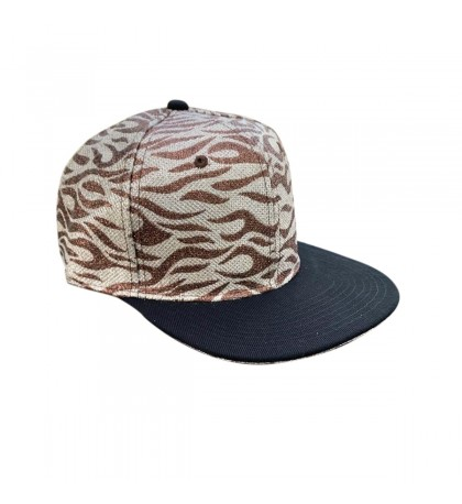 Miroslava DiscoStar Snapback Cap One Size Black Brim