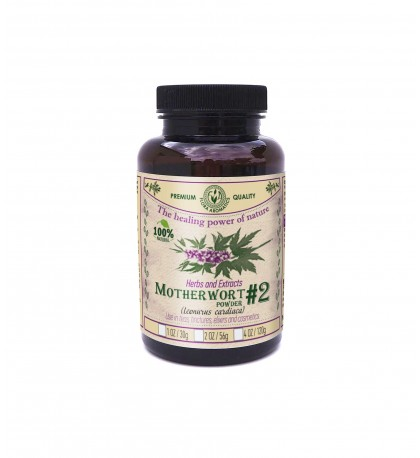 "Herbals And Extracts ""Motherwort"" (Leonurus Cardiaca) #2 -30G/1OZ"