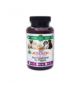 ALFALFA extract Food Supplement for Puppies