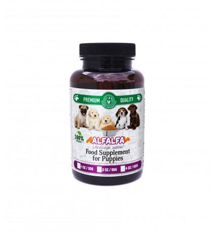 ALFALFA extract Food Supplement for Puppies