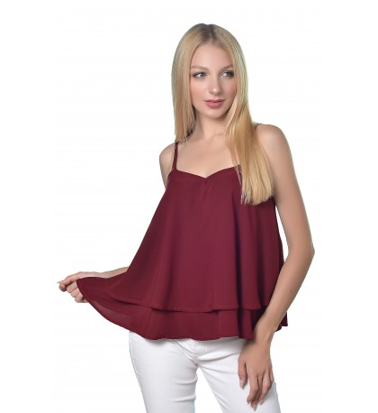 Miroslava-Tiered-Camisole-Tank-Top-Burgundy
