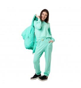 Miroslava Women's Sweatsuit Set Hoodie Vest Full Zip,  Long Sleeve Pullover and Pants Sport Suits Tracksuits