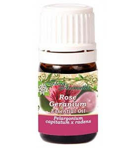Rose Geranium Pelargonium Capitatum x Radens 100% Pure Essential Oil 0.17 Fl Oz/5 Ml