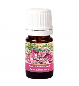 Flora Aromatics Rose Essential Oil 0.5 ml, 100% Pure Therapeutic Grade, Absolute