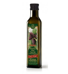 Siberian Pine Nut Oil Cold Pressed Extra Virgin 16.9 fl oz/500 ml