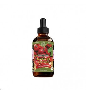 Rosehip Oil (SEED & BERRIES ) Cold Pressed Extra Virgin 4 fl oz/120 ml EXP/3.2019