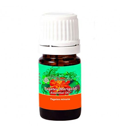 Tagetes Essential Oil (Egyptian) 100% Pure Essential Oil 0.17 Fl Oz/5 Ml