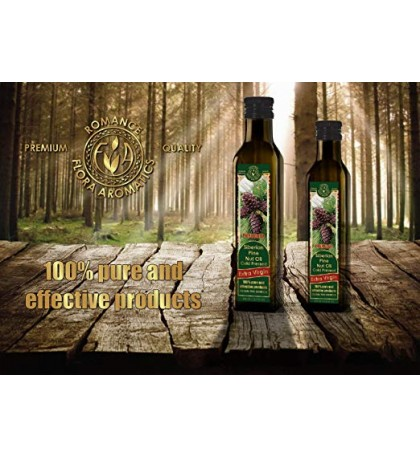 Siberian Pine Nut Oil Cold Pressed Extra Virgin 8.45 fl oz/250 ml