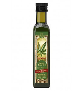 Organic Hemp Seed Oil Cold Pressed Virgin 8.45FL OZ / 250 ML
