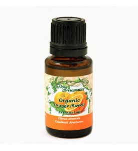 Organic Orange (Sweet) 100% Pure Essential Oil 0.5 fl oz/15 ml