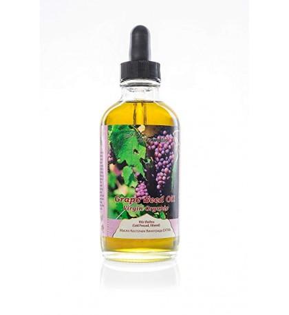 Grape Seed Oil Virgin Organic 4 fl oz/120 ml