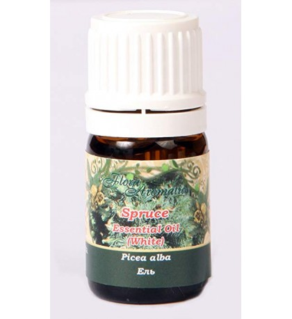 Spruce (White) Essential Oil 0.17 Fl Oz/5 Ml