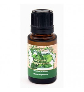 Organic Peppermint 100% Pure Essential Oil 0.5 fl oz/15 ml