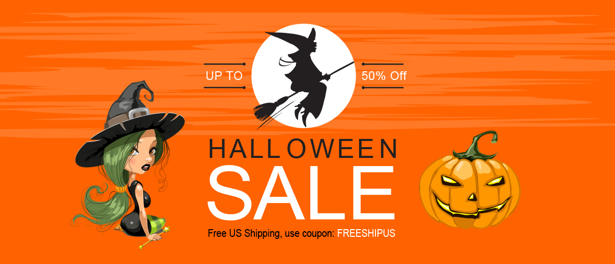 Halloween Party, SALES UP TO -50% !!!