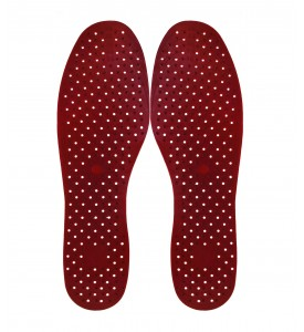 "Aromatic Massage insoles "" SPORT and FUN""  (red) with Herbal Extracts"