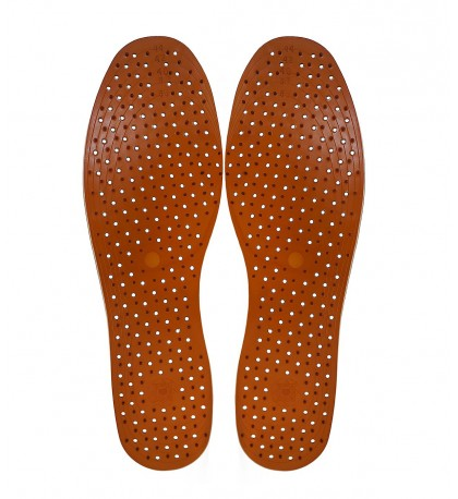 "Aromatic Massage insoles ""Frankincense & Alfalfa"" with Herbal Extracts"