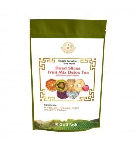 Dried Slices Fruit Mix Detox Tea, 100% Fresh Selected Fruits, 4oz