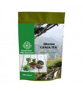 Siberian Chaga Tea with Blackcurrant, 100 g