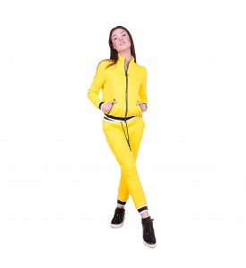 Miroslava Women's Sweatsuit Set Jacket and Pants Full Zip Sport Suits Tracksuits